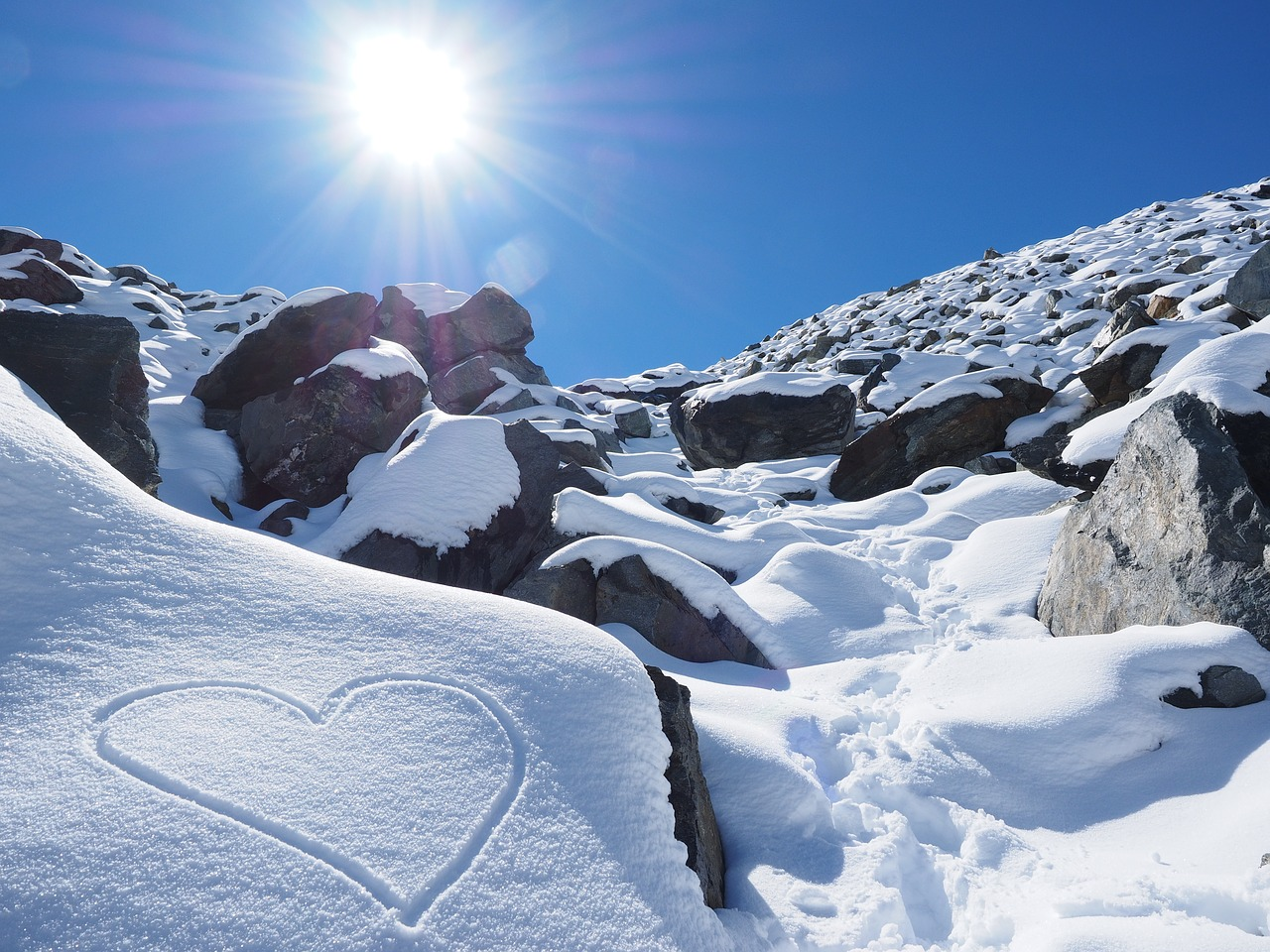 Rumi Heart White as Snow